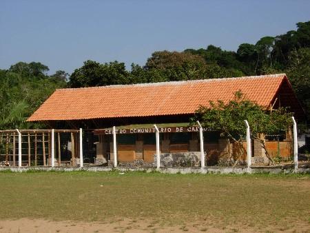 CRU! architecten bouwde een bamboe-gemeenschapscentrum in Brazilië