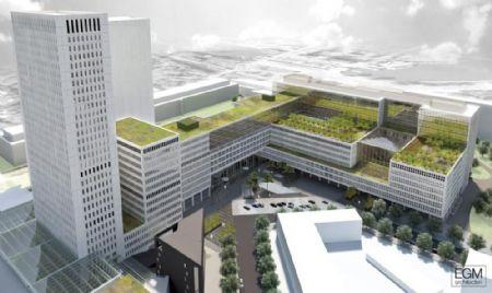 Nieuw Medisch Centrum Erasmus in hart van Rotterdam