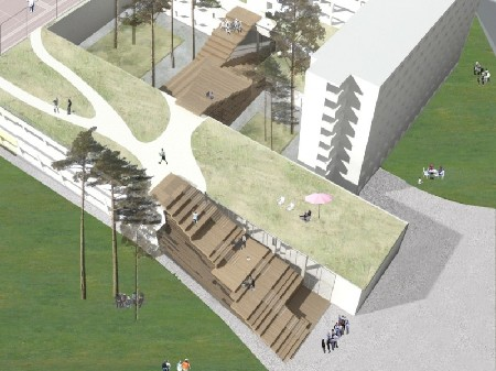 Uitbreiding Vesaliuscampus Gent door Marc Koehler Architects