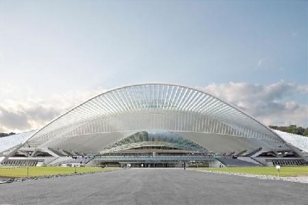 Staalbouwwedstrijd: Station Luik-Guillemins door Santiago Calatrava