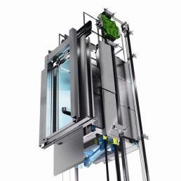 Versluys Bouwgroep gebruikt nieuwe energiezuinige lift van KONE in nieuwbouwprojecten