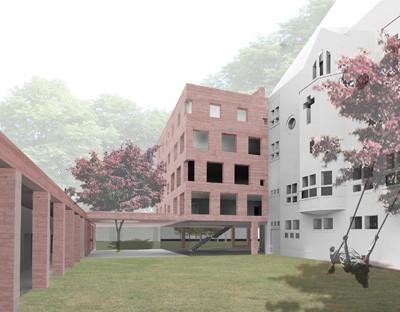 LAVA tovert voormalig klooster om tot multifunctionele passiefschool
