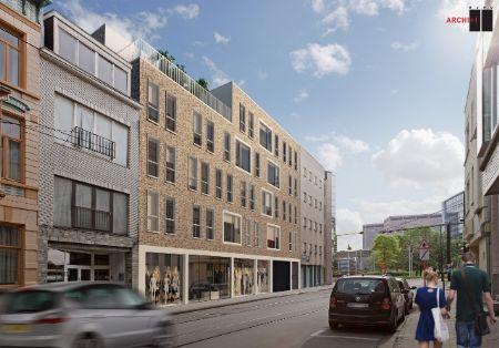 BURO II & ARCHI + I ontwerpt wooncomplex met commerciële impuls in Ledeberg