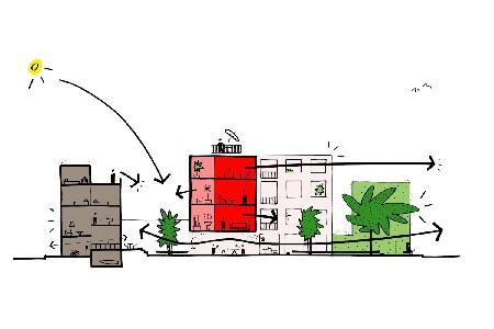 B-architecten wint wedstrijd Flora- en Terlostraat Antwerpen
