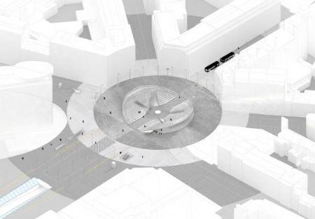 Xaveer De Geyter Architects herdefinieert Robert Schumanplein