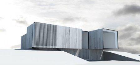 B+ Architecten ontwerpt eerste Skilpod lage-energiewoning
