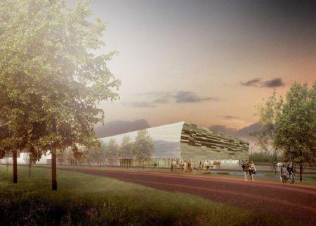 Uitbreiding sporthal campus Schoonmeersen: symbiose nieuwbouw en renovatie