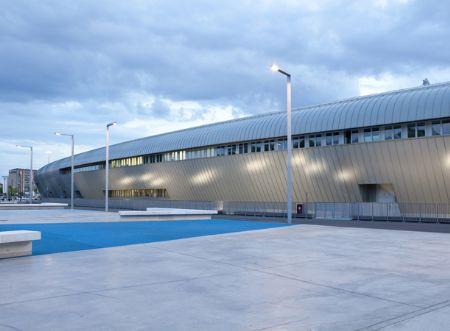 Nieuwe Juventus Stadion bekleed met Prefalz aluminium felsbanen
