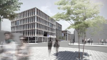 TRANS architectuur en stedenbouw ontwerpt uitbreiding Mechels politiecommissariaat