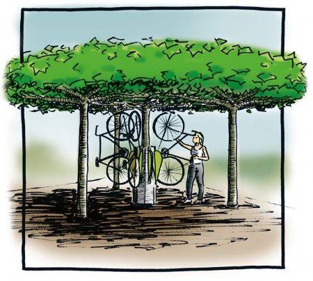 De wheelylift: stal je fiets met een groene toets