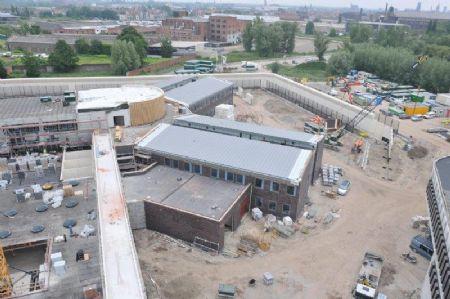 Meer dan 6.000 vierkante meter zink voor Forensisch Psychiatrisch Centrum te Gent