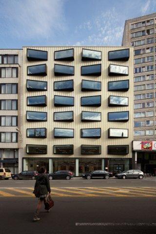 LOW architecten renoveert hoofdzetel van HVW/CAPAC in Brussel