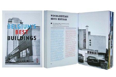 Belgium's Best Buildings volgens Sven Grooten op de Boekenbeurs