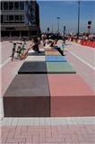 Beton bekent kleur