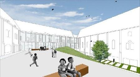 Scholen van Morgen: Sint Lievenspoort in Gent door evr-Architecten