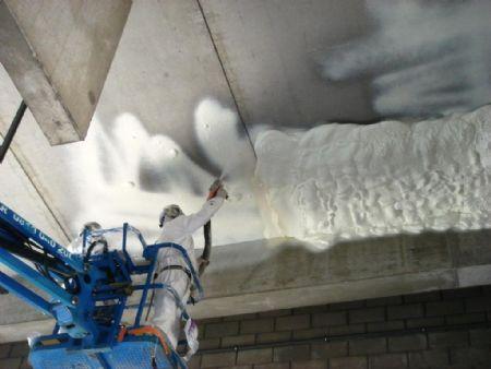 Icynene: thermisch en akoestisch isolatieschuim voor moeilijke ondergrond