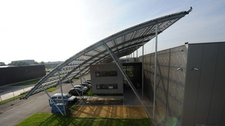 Genomineerden Staalbouwwedstrijd 2012: ISSOL - integratie zonnepanelen, Dison
