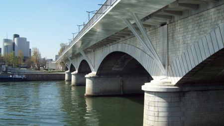 Genomineerden Staalbouwwedstrijd 2012: Uitbreiding Pont National, Parijs (Fr)