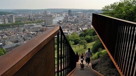 Genomineerden Staalbouwwedstrijd 2012: Citadelplatform, Luik
