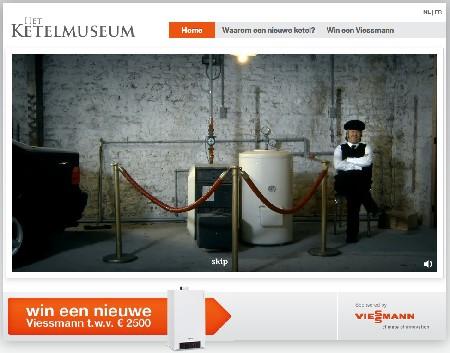 Ketelmuseum.be van Viessmann moet consumenten energiebewuster maken