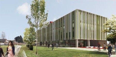 Nieuw energie-efficiënt gebouw voor KHLim in Diepenbeek