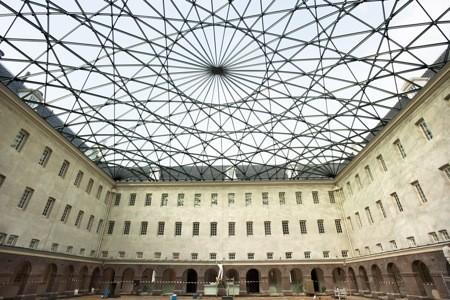 Wedstrijdontwerp glazen koepel Het Scheepvaartmuseum Amsterdam opgeleverd