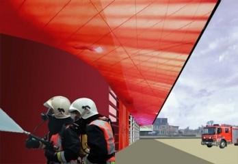 Compagnie O ontwerpt nieuwe brandweerkazerne van Puurs