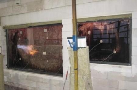 Geslaagde brandproef Frans Balkon