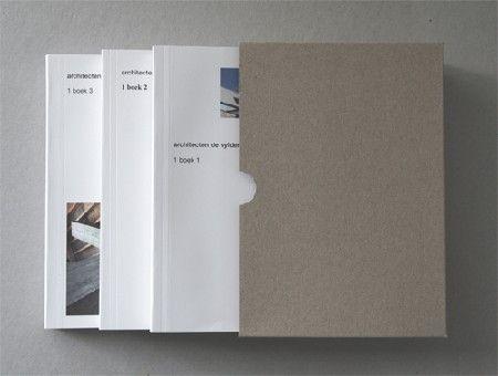 Meest Inspirerende Architectuurboek 2012: De Vylder Vinck Taillieu. 1 boek 2 / 1 boek 3 - Mer Paperkunsthalle