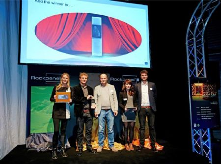 ROCKPANEL Product Design Award 'Stone becomes Art' uitgereikt