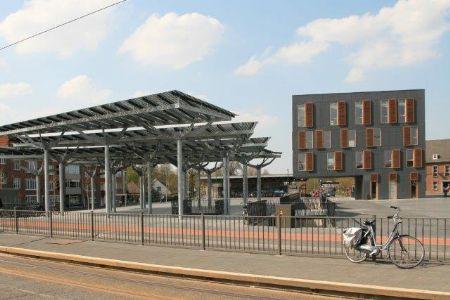Duurzame metamorfose voor stadsplein van Mortsel