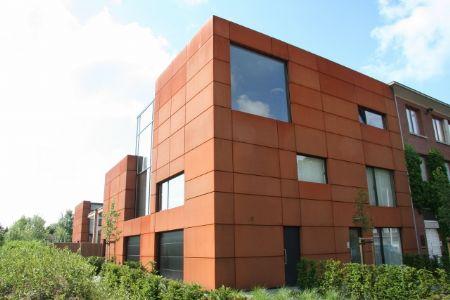 Houtzagerij in cortenstaal van Architektenbureau Toon Saldien