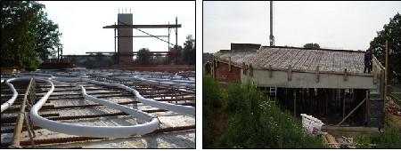 Architect Davy Stroobants experimenteerde met betonkernactivering in eigen woning