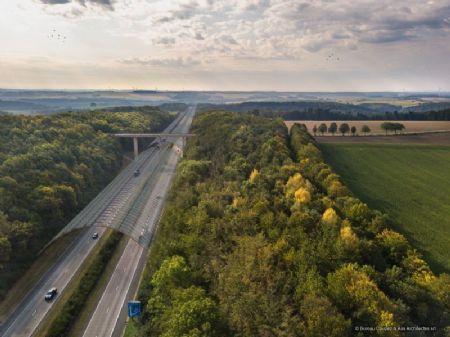 Des panneaux photovoltaïques au-dessus de nos autoroutes ?