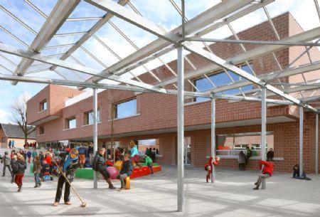 Nieuwe basisschool De Zonnebloem in Lummen_2