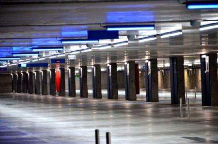 Ondergrondse parking station Mechelen_17
