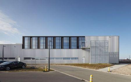 Extension du hall de production de l'imprimerie Verstraete_3