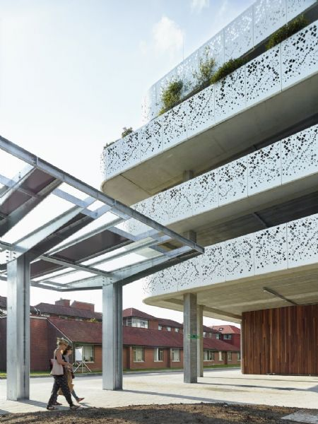 Parkeergebouw van AZ Sint-Lucas & Volkskliniek _13