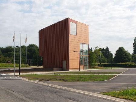 Pavillon d'accueil de L'ULg au Sart-Tilman_1