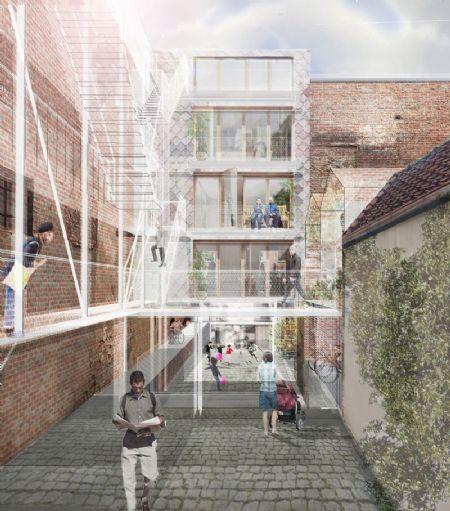 9 nieuwe woningen in kader Duurzaam wijkcontract De Marollen_2