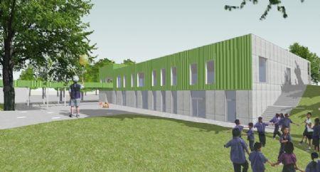 Uitbreiding Centrumschool De Knipoog Tollembeek_2