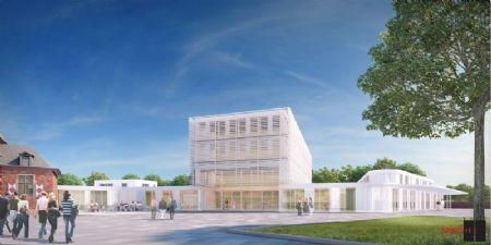 Nieuw administratief centrum en bibliotheek Ternat_1