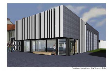 Moderne bibliotheek in de Pinte_5