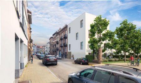 Sociale woningen en kantoorgebouw Rauterpark_5