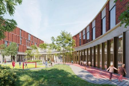 Nieuwe GO!-basisschool annex -kinderdagverblijf in Sint-Jans-Molenbeek_3