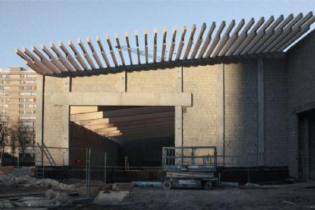 Hall sportif et centre de jeunesse te Linkeroever_5