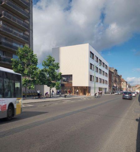 Sociale woningen en kantoorgebouw Rauterpark_2