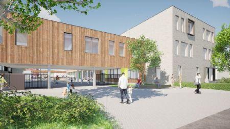 Nieuwbouw basisschool en sportzaal Beekheemden_2