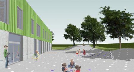 Uitbreiding Centrumschool De Knipoog Tollembeek_3