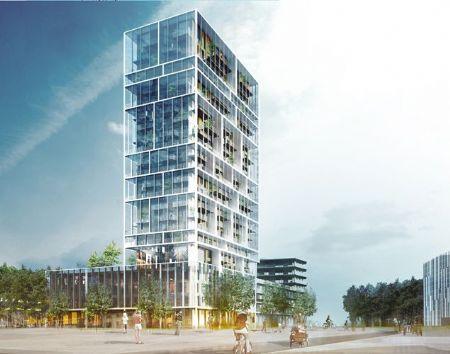 Residentiële Toren Antwerpen_1